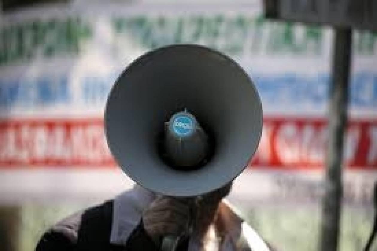Θεσσαλονίκη: Συγκέντρωση εκπαιδευτικών στο δημαρχείο