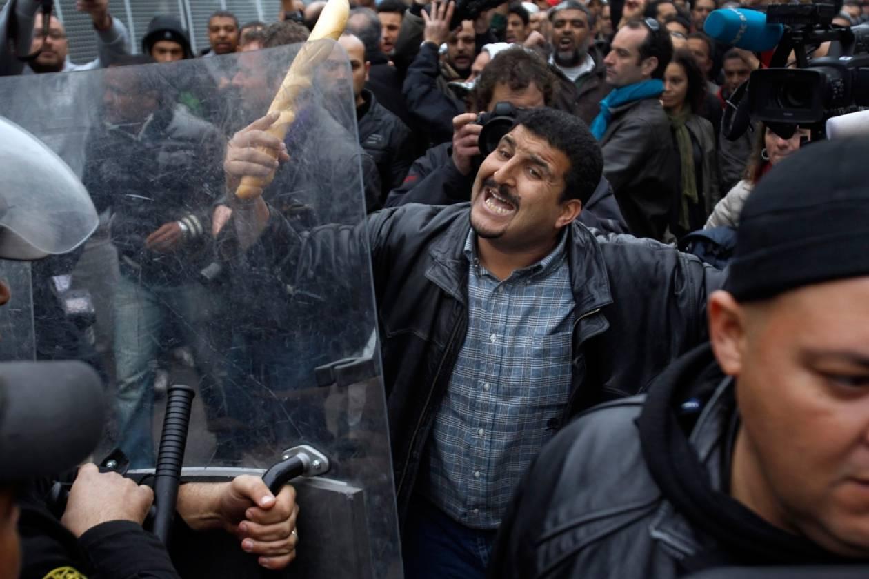 Επεισόδια στην πρωτεύουσα της Τυνησίας για τον θάνατο του Μπράχμι