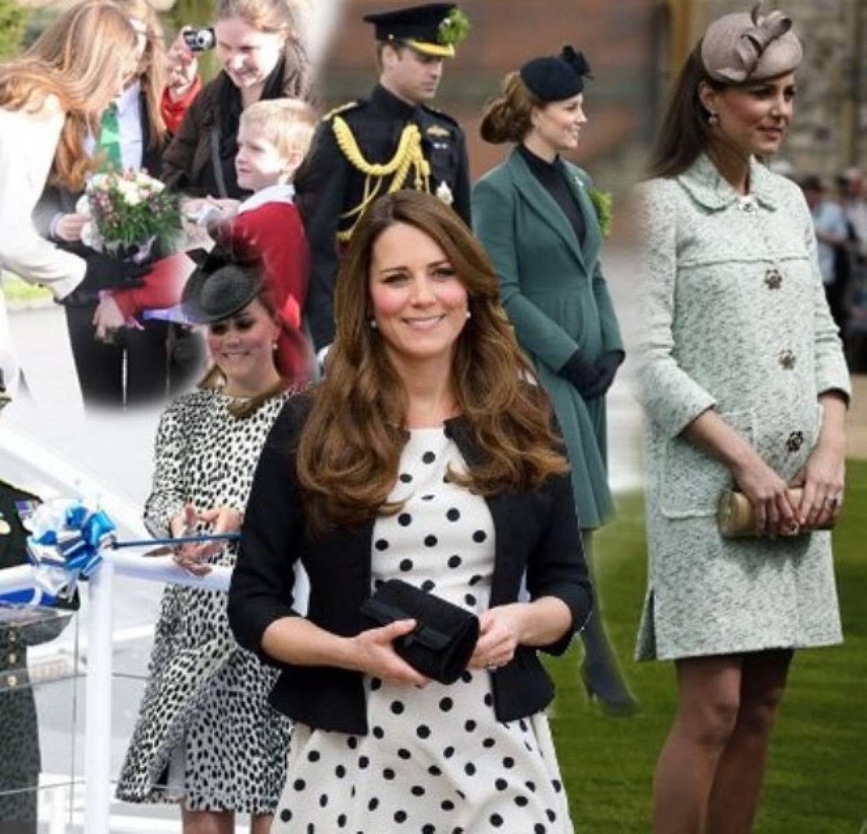 Kate Middleton: Μία πολύ στυλάτη εγκυμοσύνη