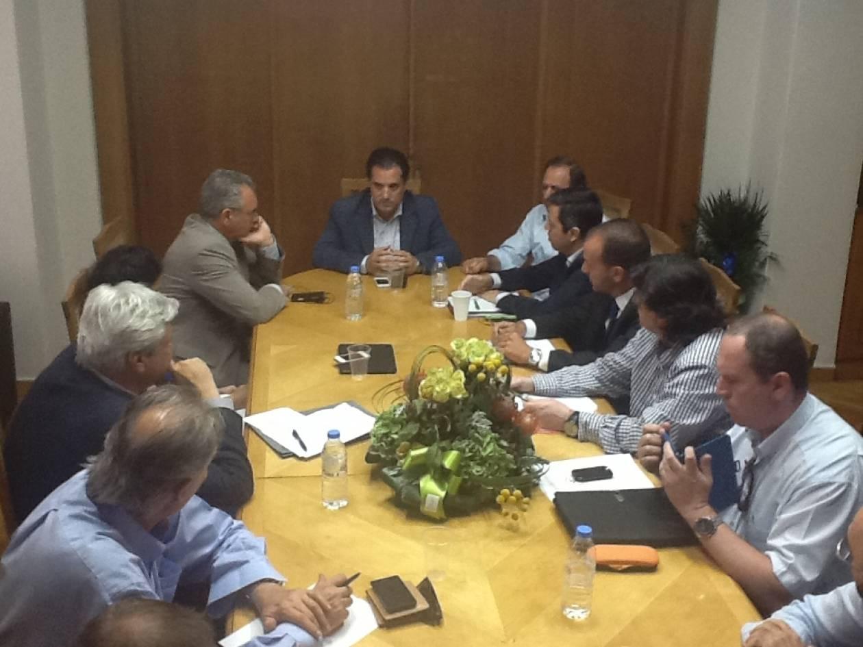 Συνάντηση Γεωργιάδη για νοσοκομείο Κύμης και Κέντρο Υγείας Μαρκοπούλου