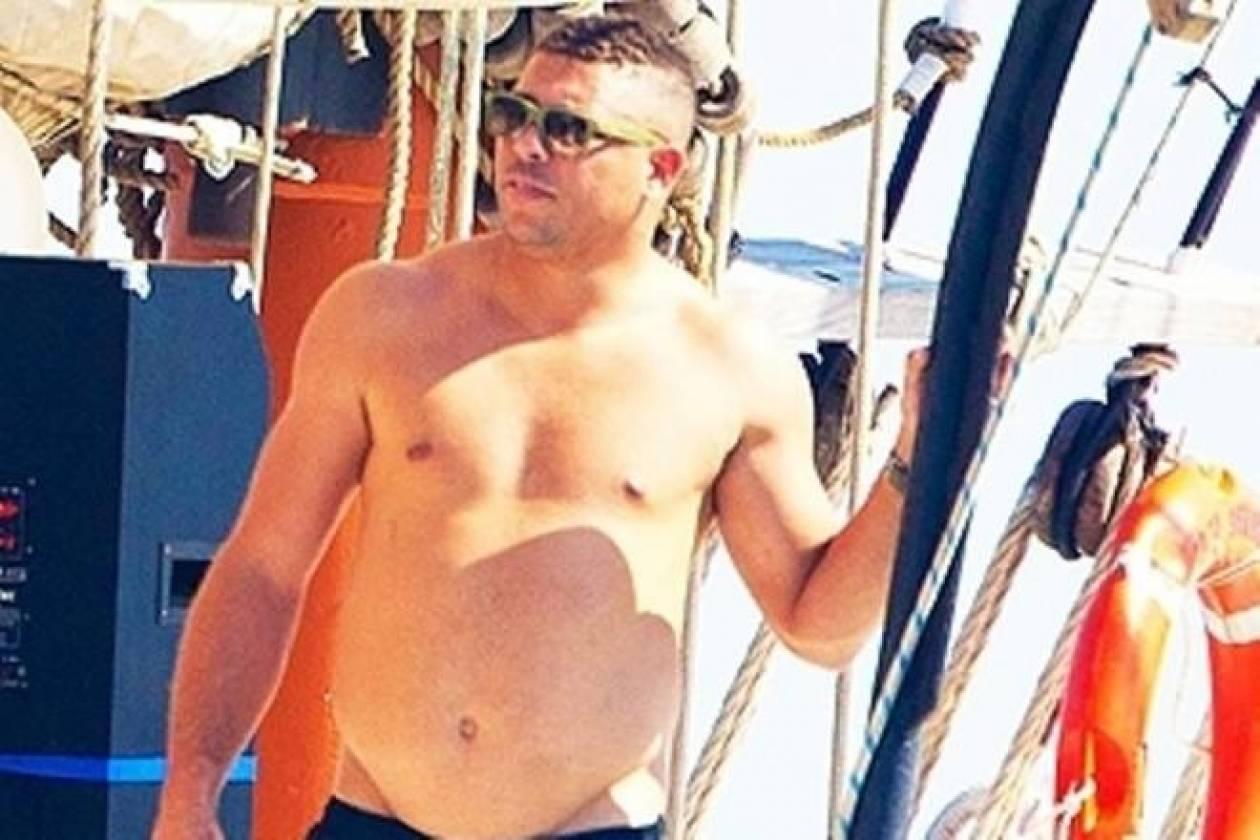 Σοκάρουν οι ημίγυμνες φωτογραφίες του Ρονάλντο
