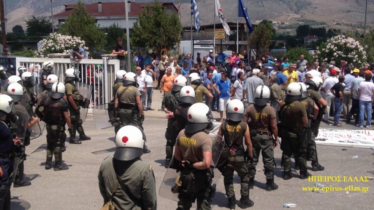 Βίντεο: Ένταση στις εγκαταστάσεις «Δωδώνη» στα Ιωάννινα