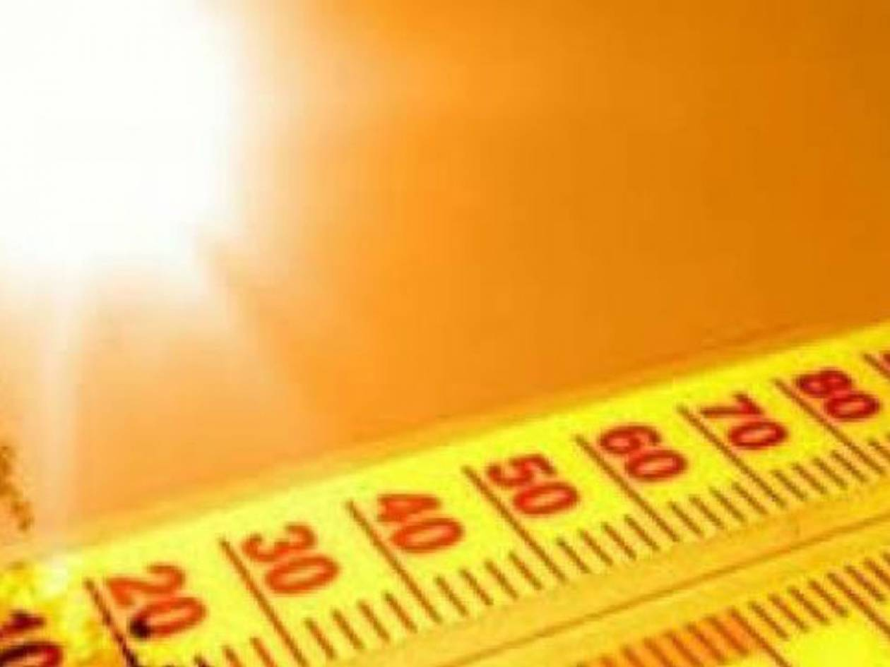 Στο «κόκκινο» και το Σάββατο η θερμοκρασία