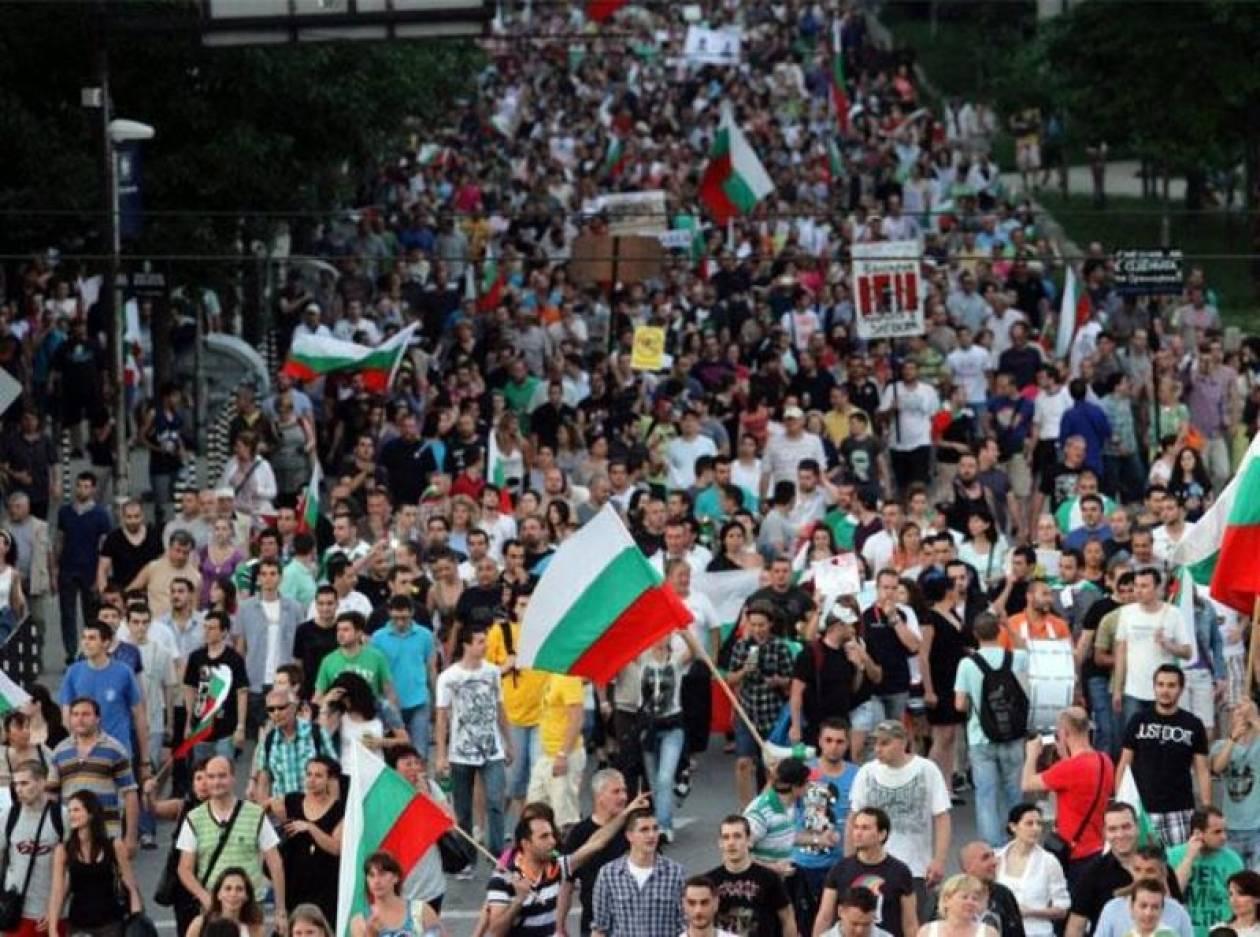 Συνεχίζονται οι αντικυβερνητικές διαδηλώσεις στη Βουλγαρία