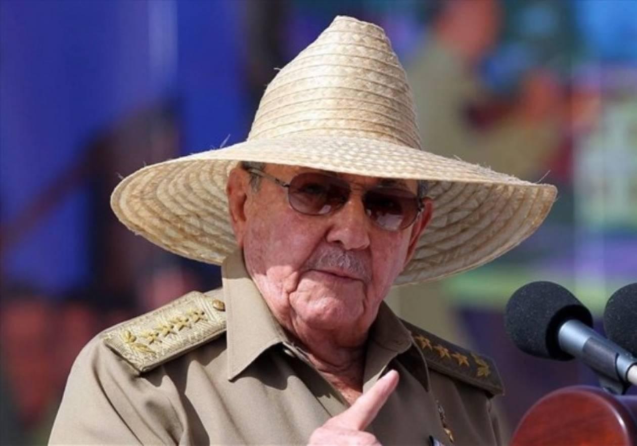 Ρ. Κάστρο: «Σε εποχή σταδιακής μεταβίβασης της εξουσίας η Κούβα»