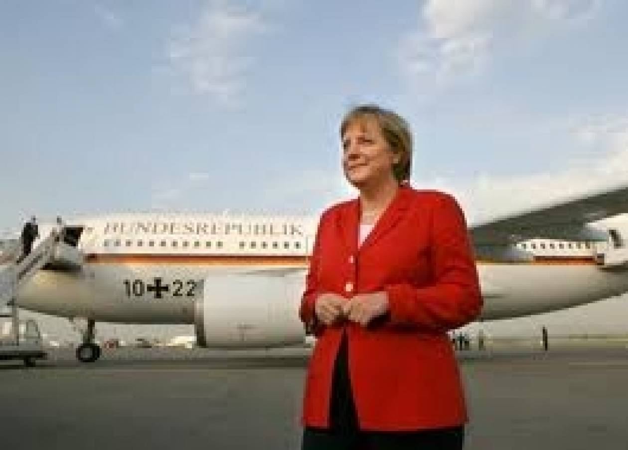 24χρονος «μπούκαρε» στο αεροσκάφος της Άνγκελα Μέρκελ!