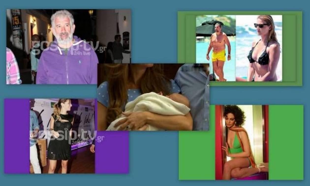 Το φόρεμα της Κούρκουλου, οι πρώτες φωτογραφίες του μωρού της και...