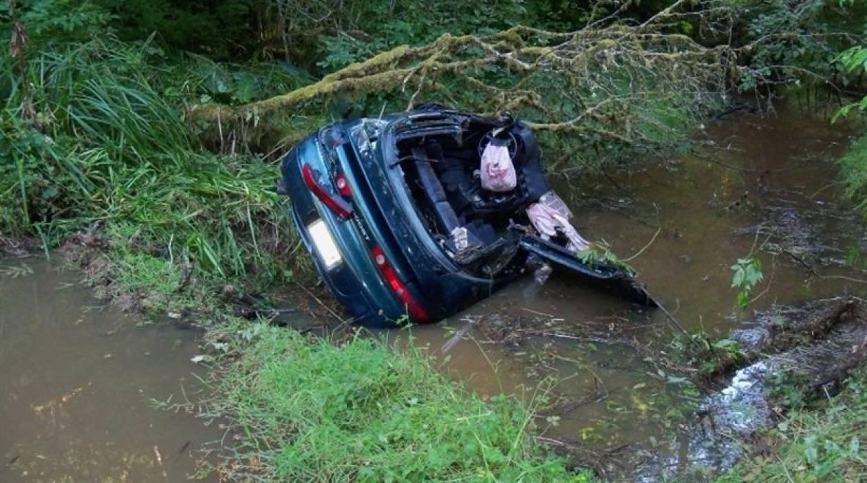 Κρήτη: Νεκρός οδηγός αυτοκινήτου που έπεσε σε κανάλι