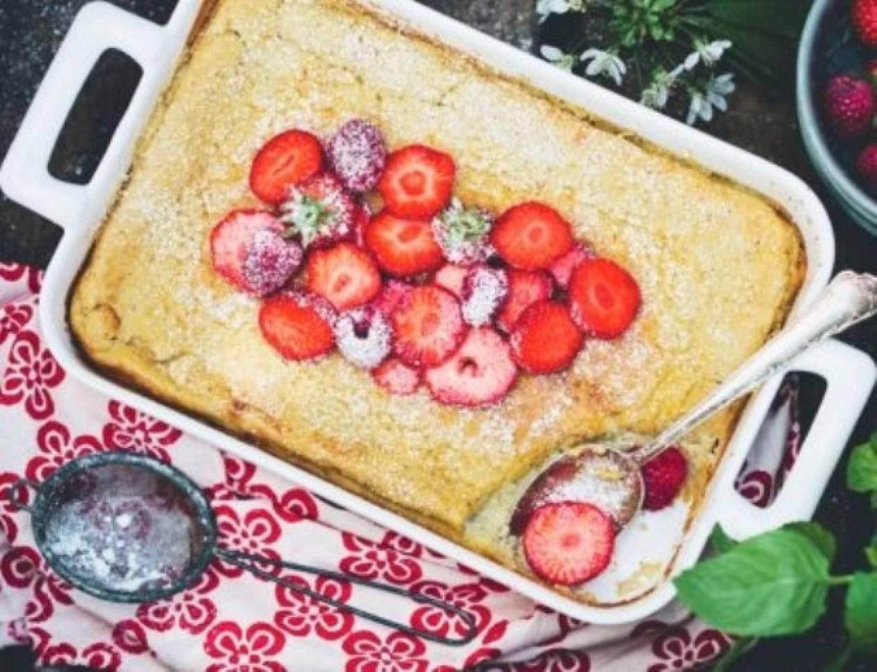 Pancake στο φούρνο: Πιο παχύ, πιο αφράτο, πιο λαχταριστό