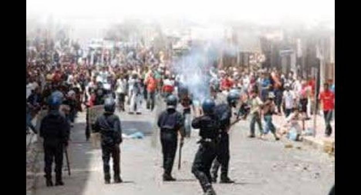 Τυνησία: Επεισόδια μπροστά στή Βουλή-Με δακρυγόνα απαντά η αστυνομία