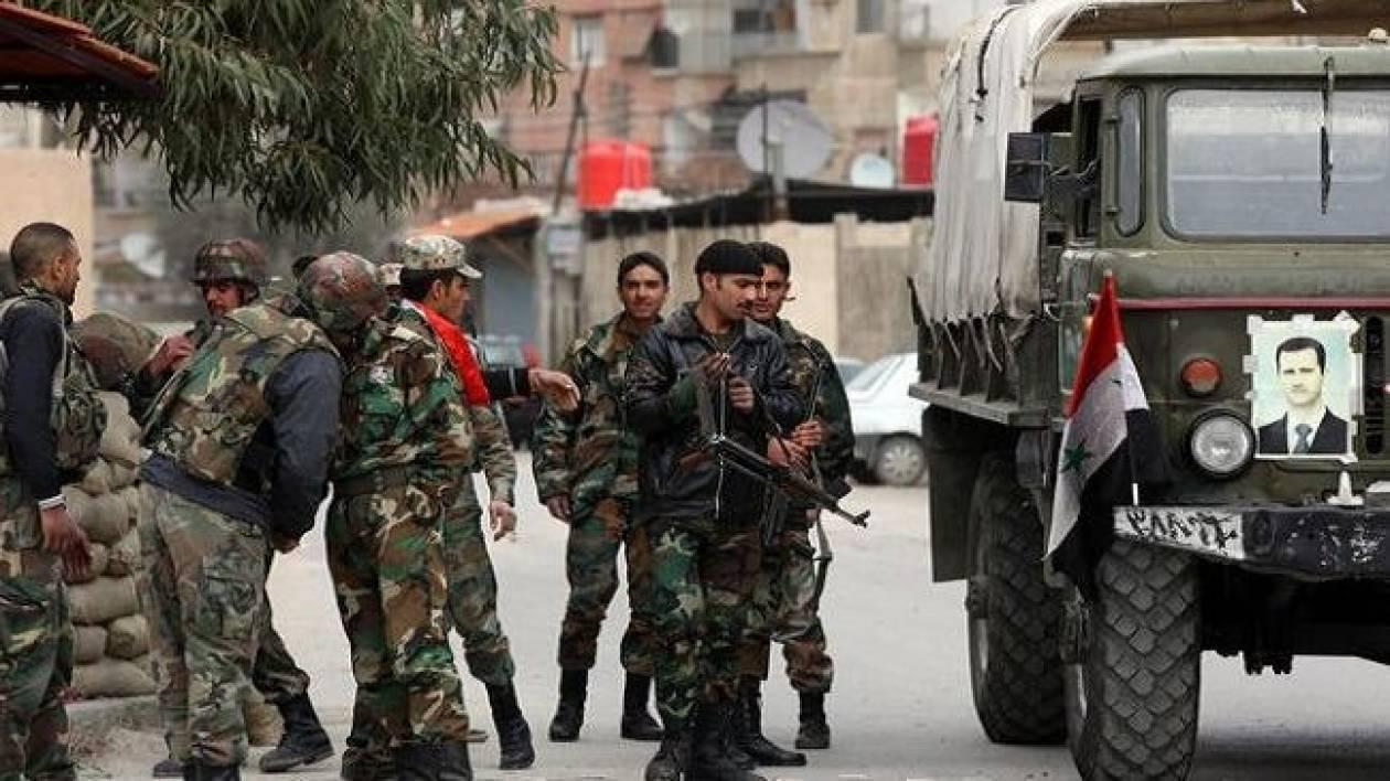 Συρία: Το 50% της Χαλντίγια έχει περιέλθει στον έλεγχο του στρατού