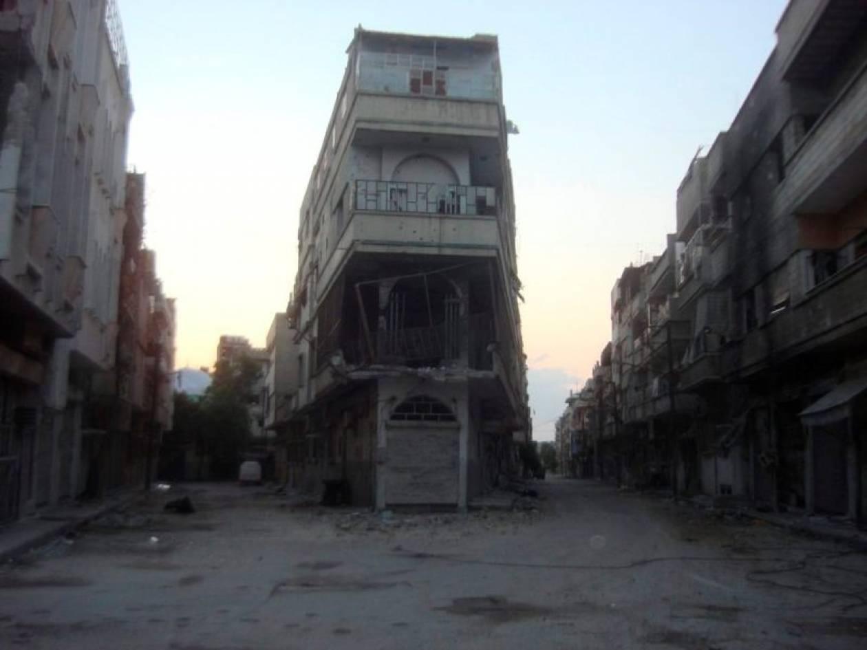Στα χέρια του στρατού το μεγαλύτερο μέρος της Χομς