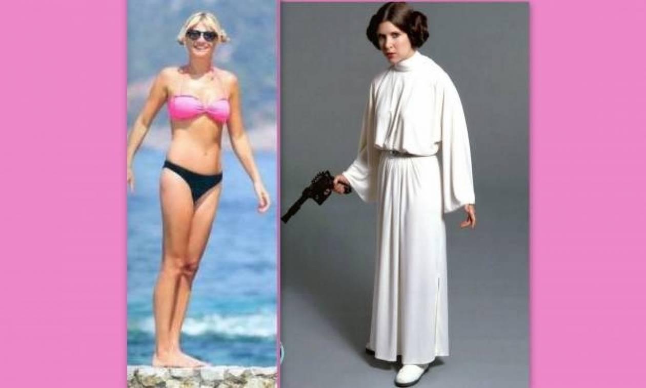 Η Φαίη Σκορδά εμπνέεται από την πριγκίπισσα Leia του Star Wars!