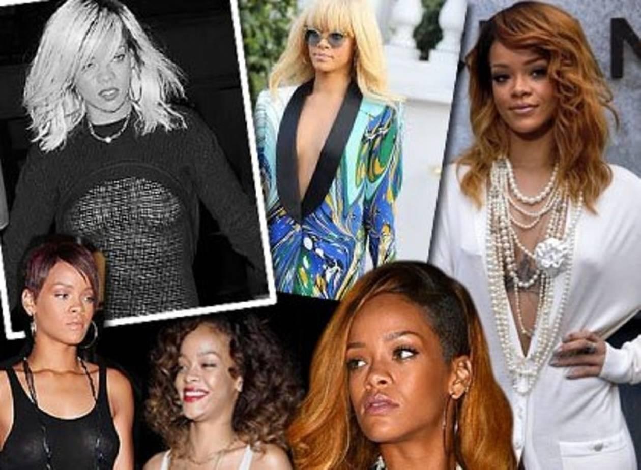 Rihanna: Λανσάροντας το look «χωρίς σουτιέν»