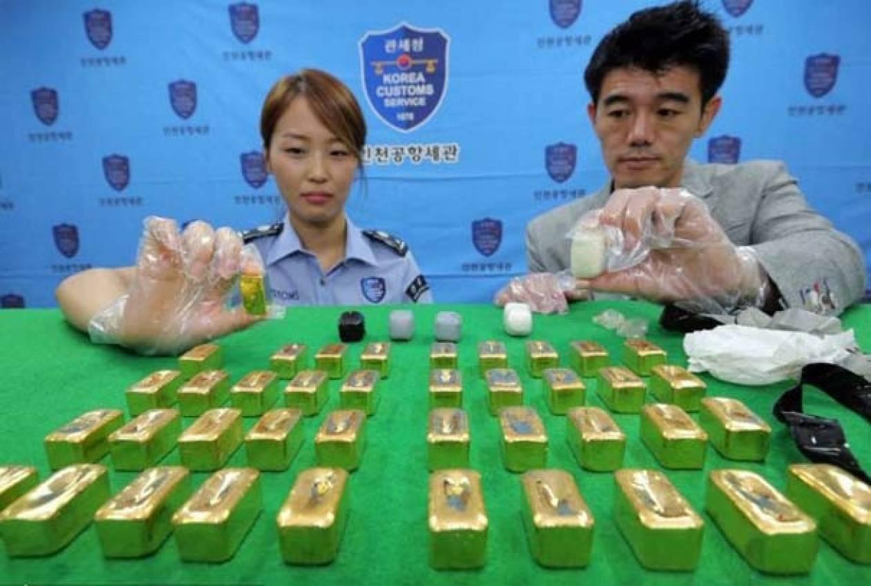 Δεν θα πιστεύετε που βρέθηκαν αυτές οι ράβδοι χρυσού (pics)