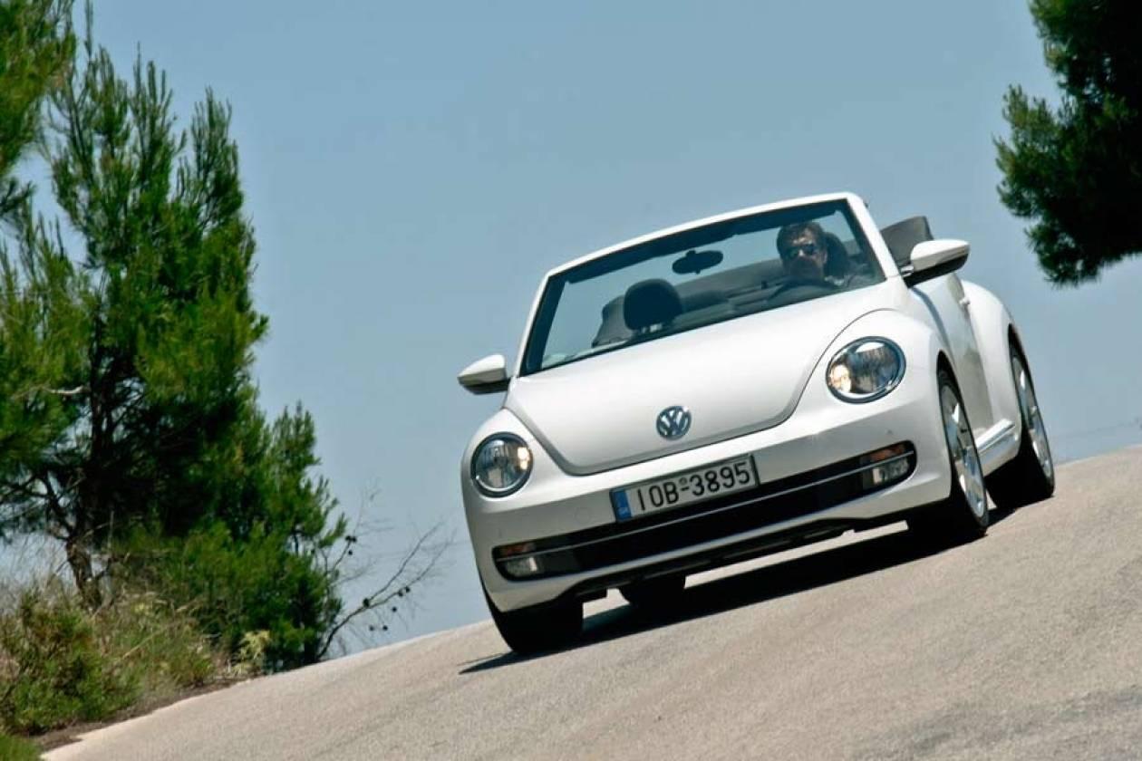 VW: Το νέο Beetle στην Cabrio εκδοχή του!