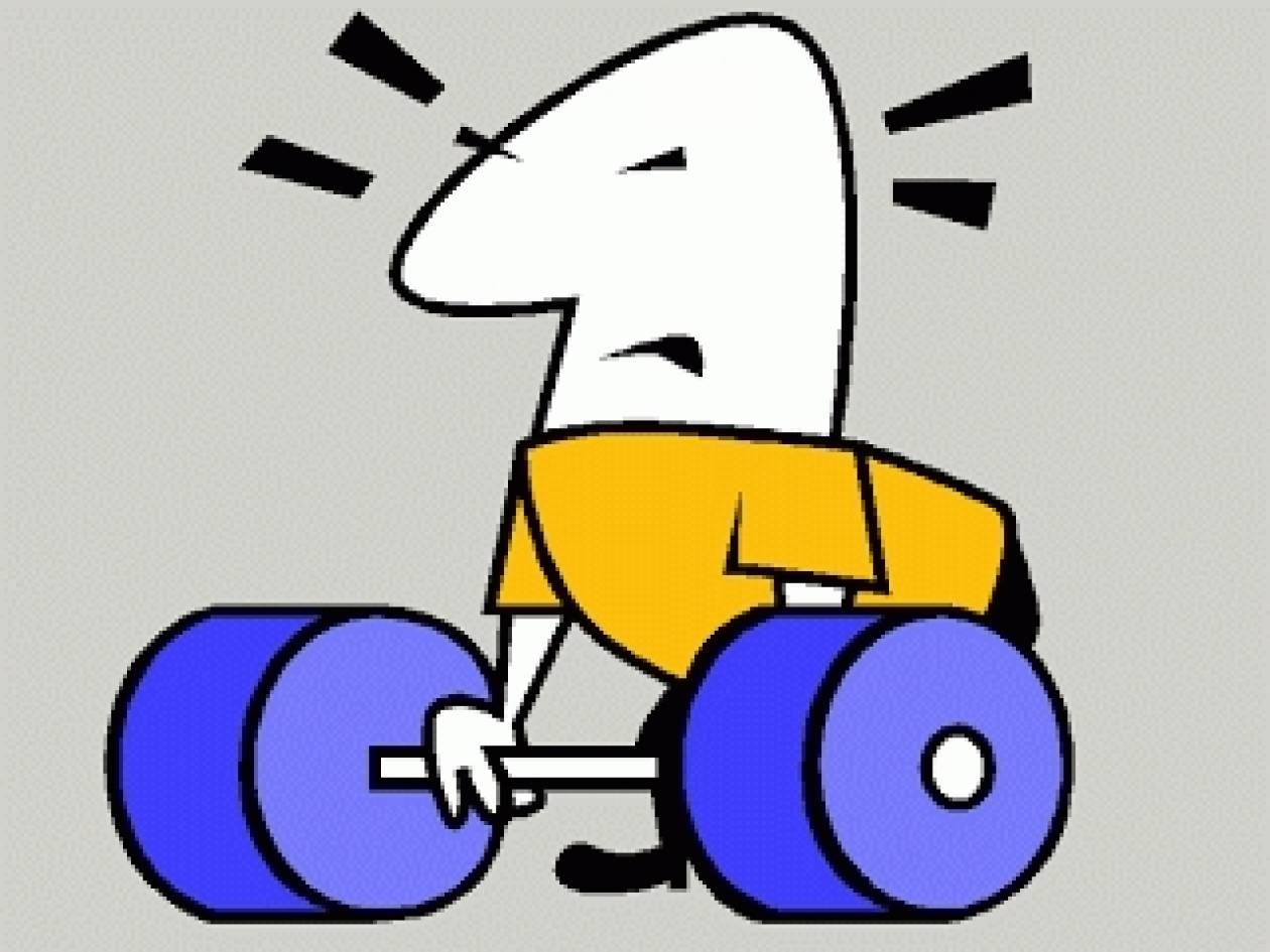Ανέκδοτο: Στο γυμναστήριο