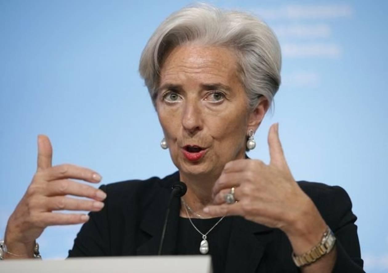 Λαγκάρντ: «Πρέπει η Ελλάδα να συνεχίσει στο δρόμο των μεταρρυθμίσεων»