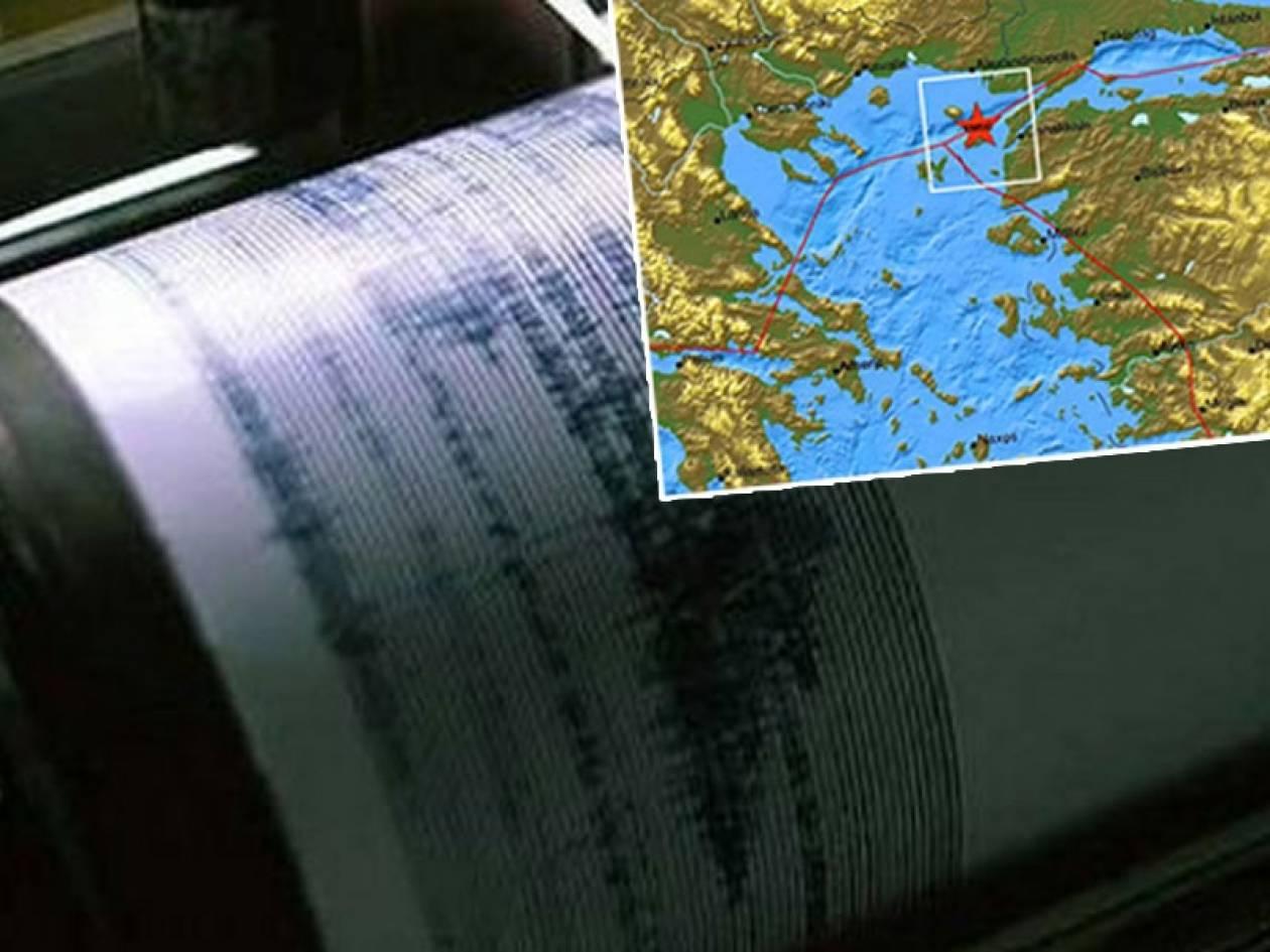 Ισχυρός σεισμός 5,1 ρίχτερ στη Σαμοθράκη