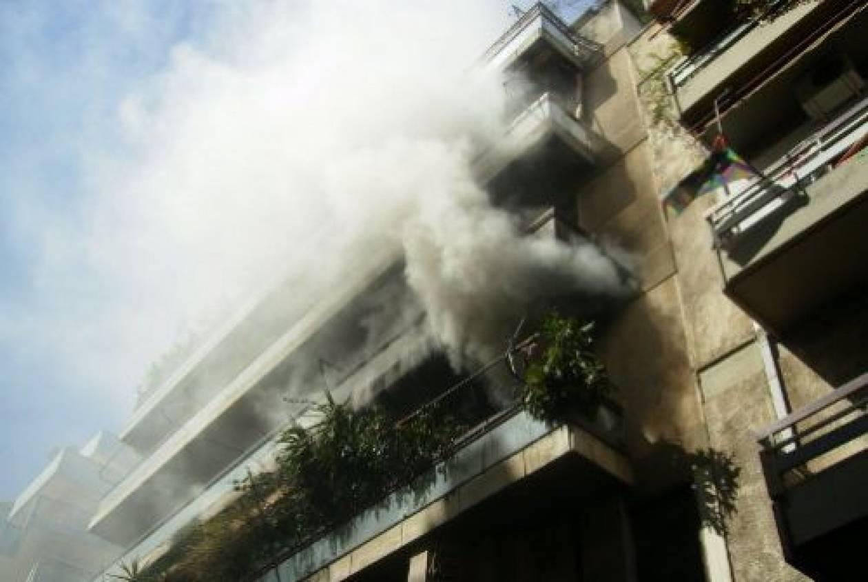 Κρήτη: Φωτιά σε διαμέρισμα - Στο νοσοκομείο ο ένοικος