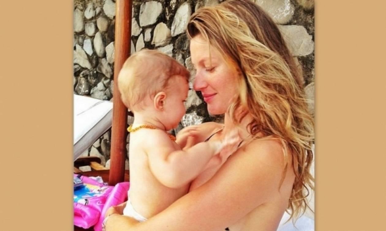 Το βλέμμα της αγάπης από την Ζιζέλ στην κόρη της! (φωτογραφίες)
