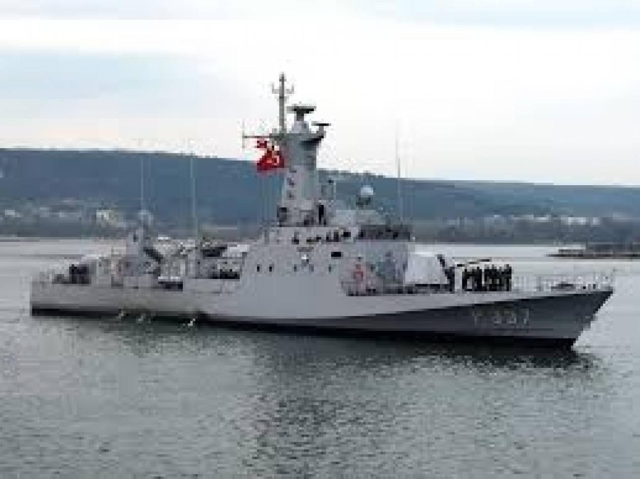 Παρενόχληση ιταλικού πλοίου από τουρκικό ΠΝ στην ΑΟΖ Κύπρου