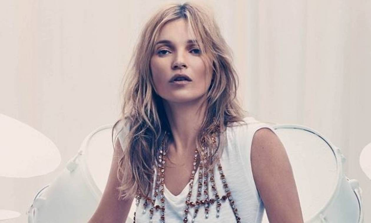 Kate Moss: Στα 39 της εξώφυλλο σε ανδρικό περιοδικό