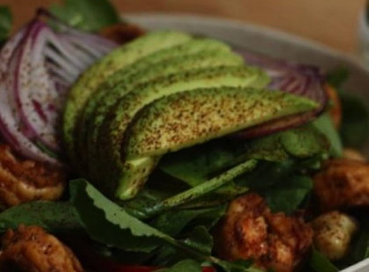 Η πιο υγιεινή, μεθυσμένη σαλάτα: Tequila lime salad με γαρίδες!