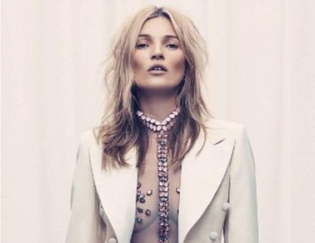 Η επιστροφή της Kate Moss: Πιο sexy από ποτέ