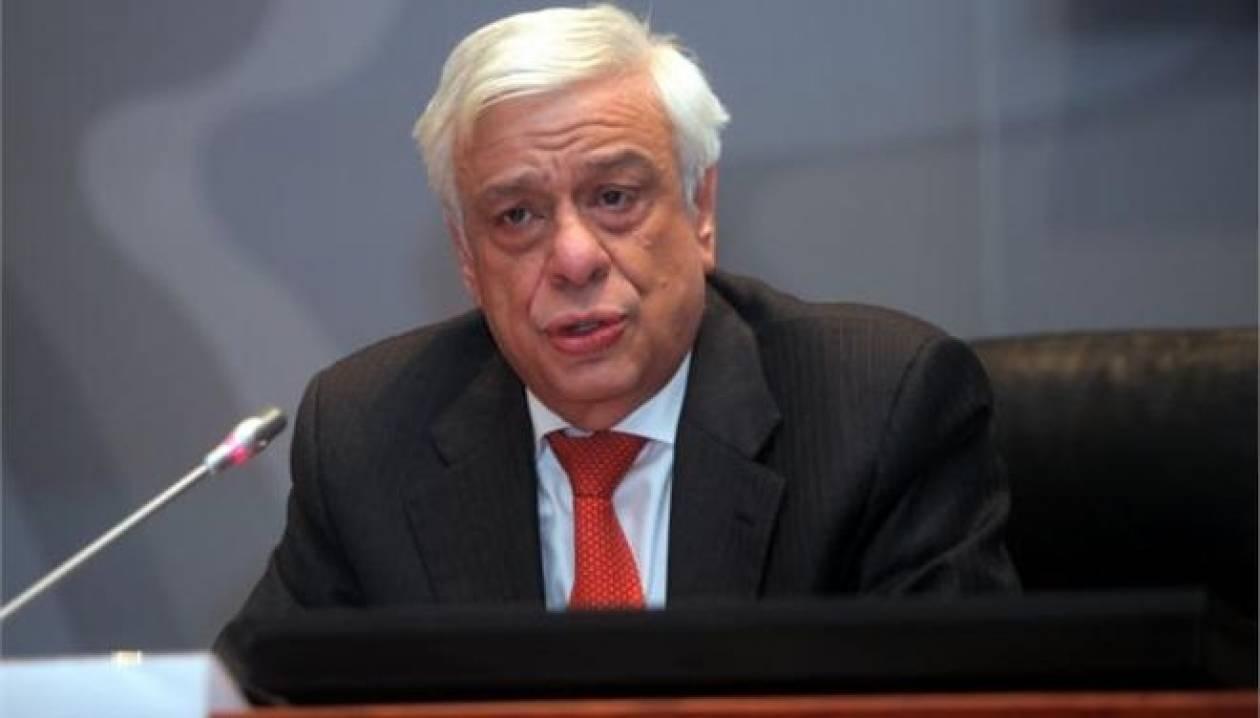 Παυλόπουλος: Ο Νότος να αντιταχθεί στις εμμονές της Γερμανίας