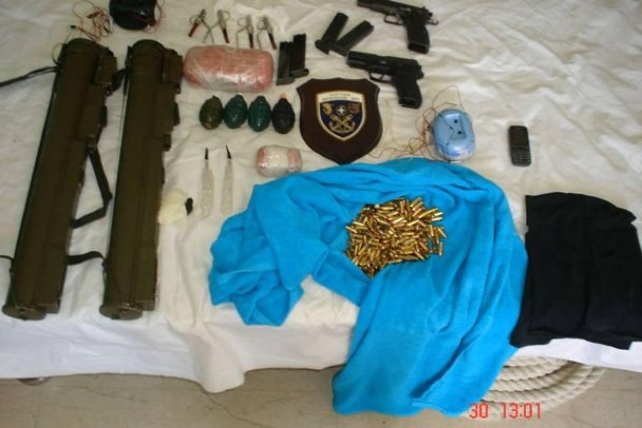 Τα όπλα που βρέθηκαν στην κατοχή των υπόπτων για τρομοκρατία (pics)