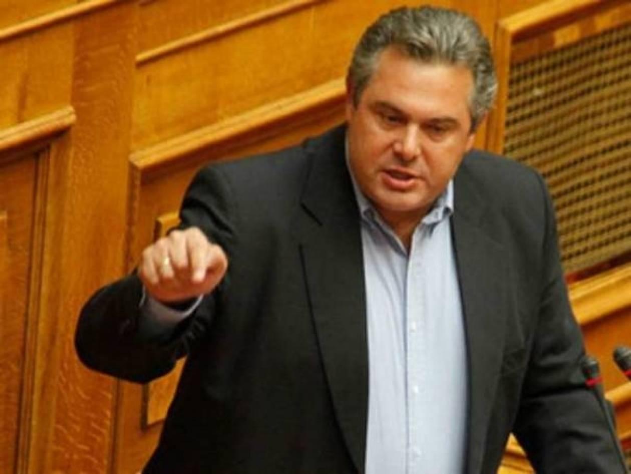 Καμμένος: Σαμαράς και Βενιζέλος παραδίδουν το όνομα «Μακεδονία»!