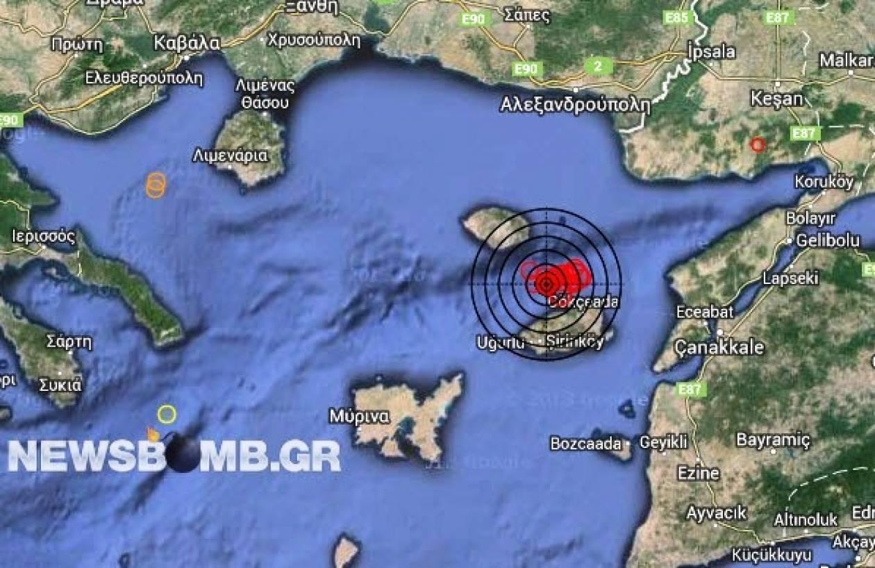 Σεισμός 4,0 Ρίχτερ νοτιοανατολικά της Σαμοθράκης