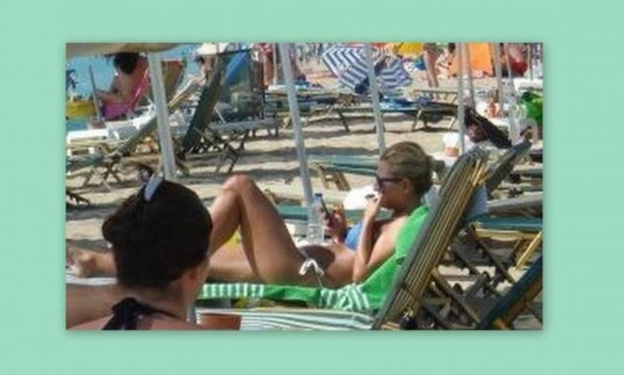 Παπαράτσι: Δείτε τη Μαρία Ηλιάκη χωρίς ρετούς στην παραλία!
