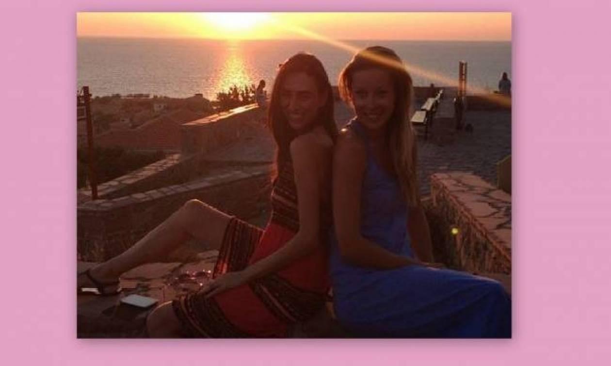 Διακοπές για την Μαριέττα Χρουσαλά στην Μυτιλήνη!