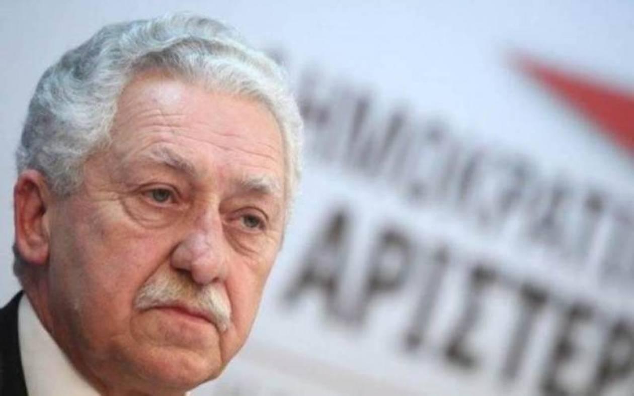 Κουβέλης: Δεν απευθύνεται στο ΠΑΣΟΚ η πρόταση συγκρότησης νέου πόλου
