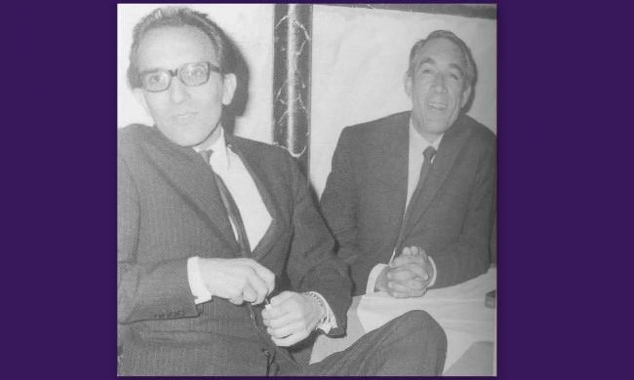 Δεξιά είναι ο Anthony Quinn, αριστερά αναγνωρίζετε ποιος είναι;