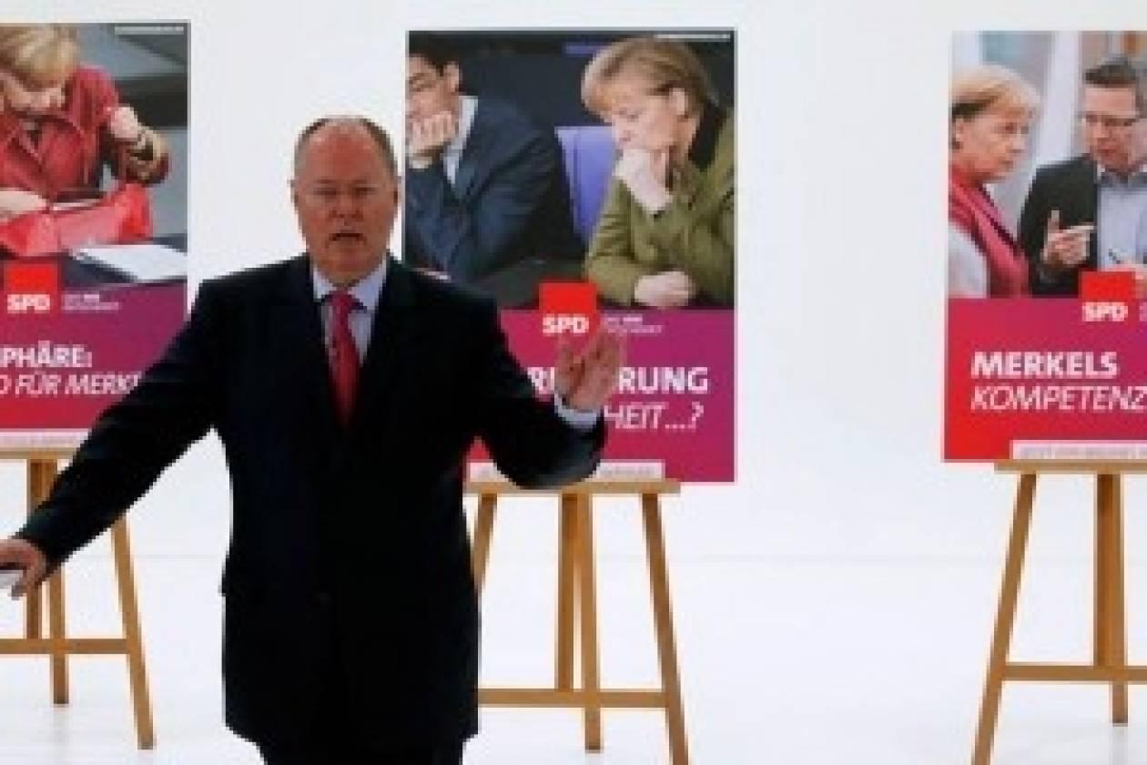 Στην προεκλογική «μάχη» οι γερμανοί Σοσιαλδημοκράτες