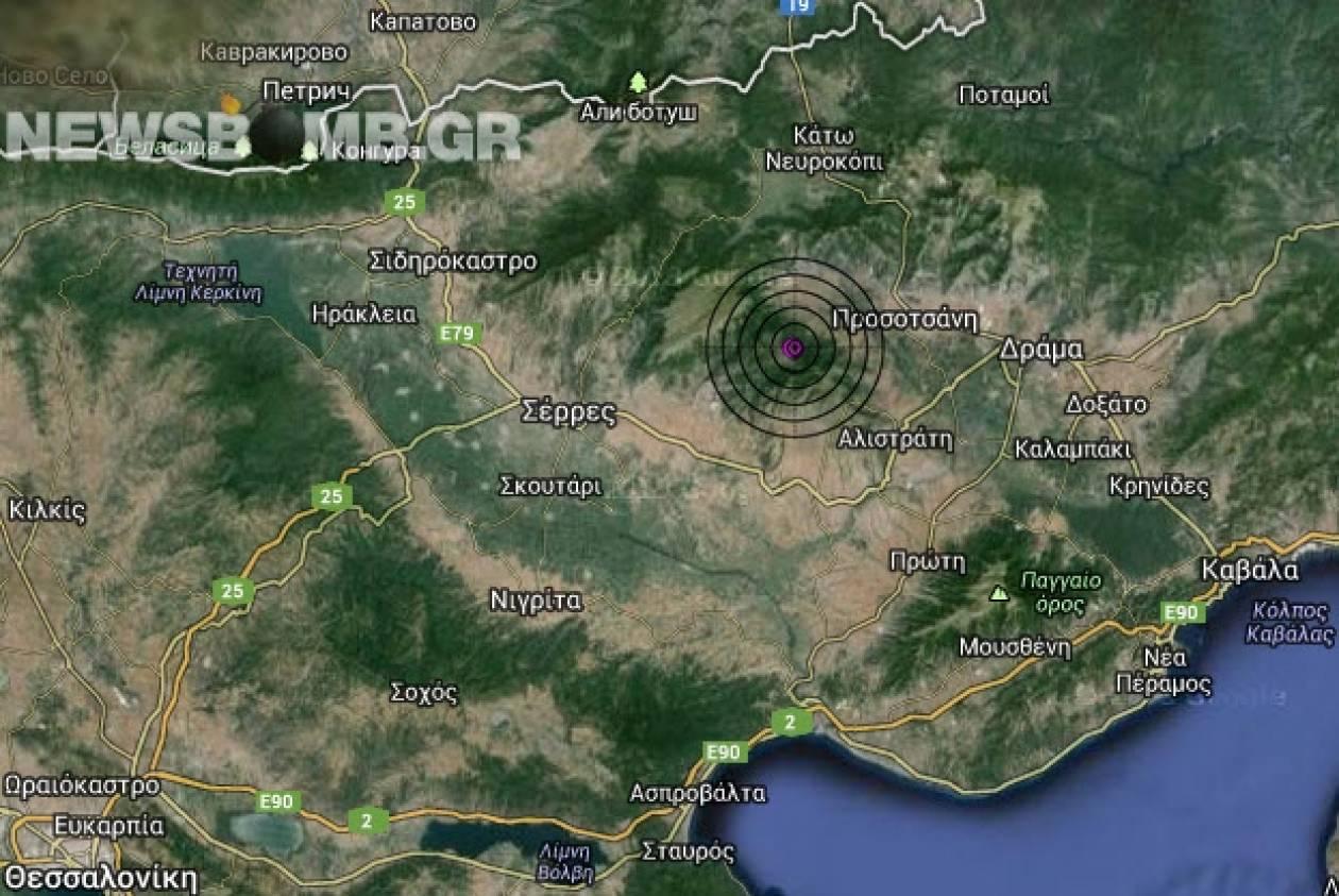 Σεισμός 3,1 Ρίχτερ στην ανατολική Μακεδονία