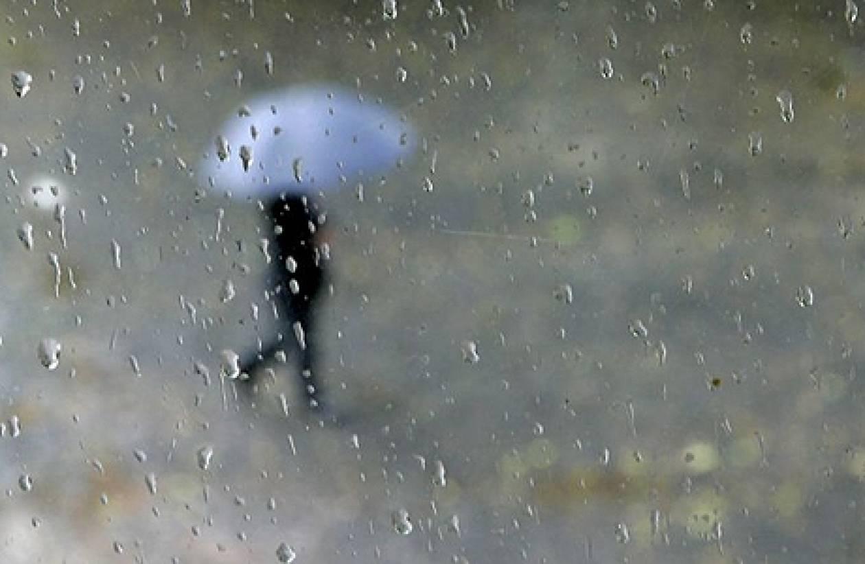 Βροχές και καταιγίδες την Παρασκευή