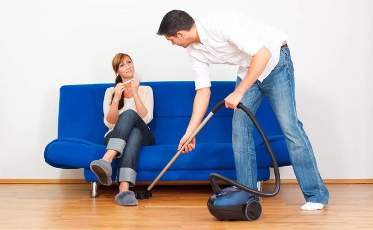 Οι δουλειές του σπιτιού χαρίζουν χρόνια ζωής στους άνδρες
