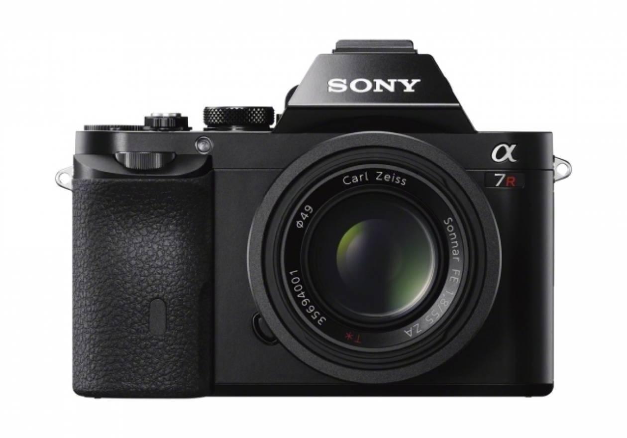 Η Sony παρουσιάζει την α7R: Η μικρότερη και ελαφρύτερη φωτογραφική