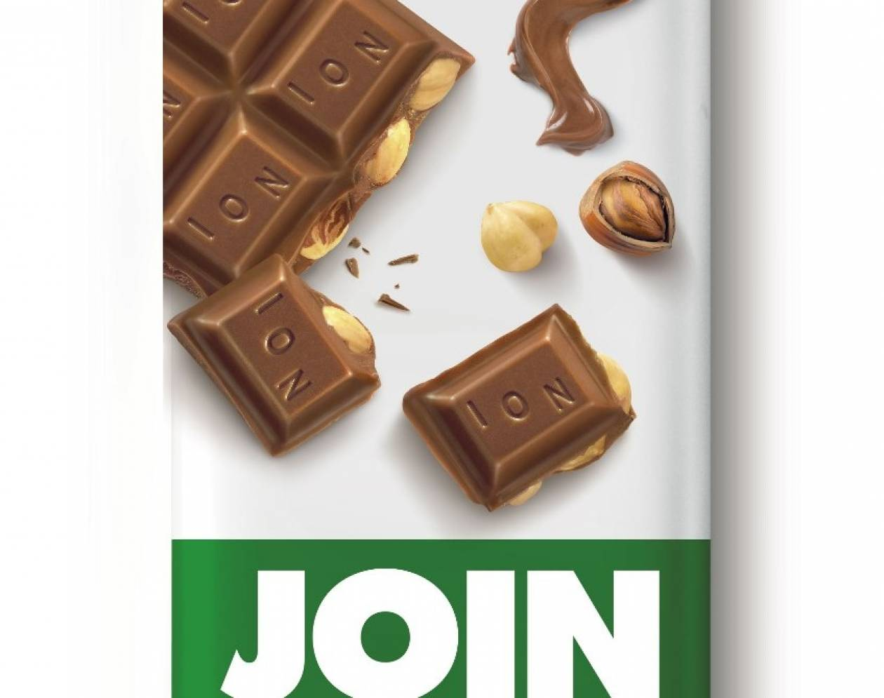 H νέα σοκολάτα JOIN πλημμυρίζει από φουντούκια!
