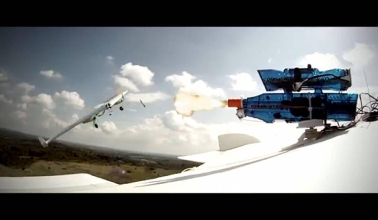 Η πρώτη στον κόσμο αερομαχία τηλεκατευθυνόμενων αεροπλάνων