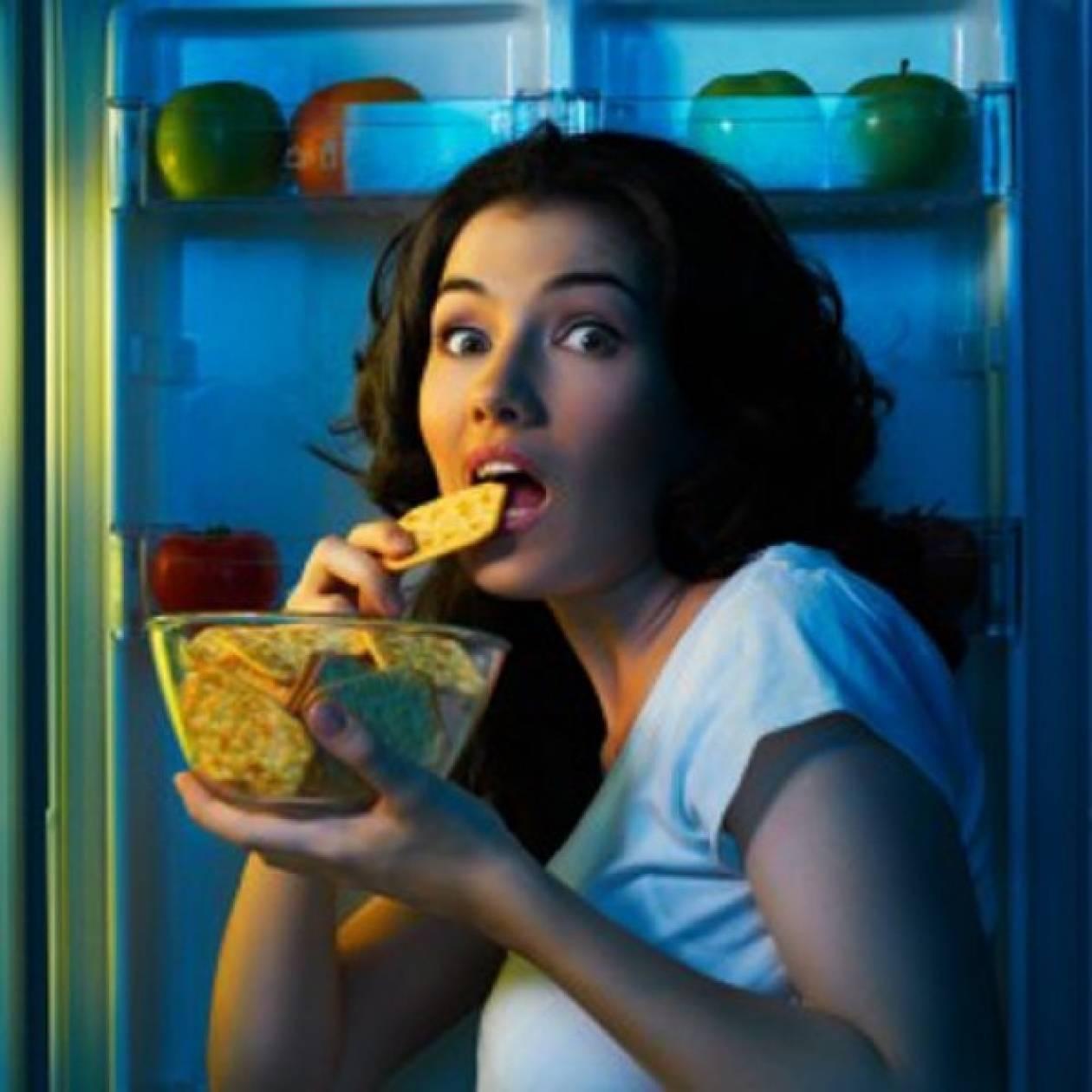 10 Φαγητά που δεν πρέπει να φας πριν πας για ύπνο!