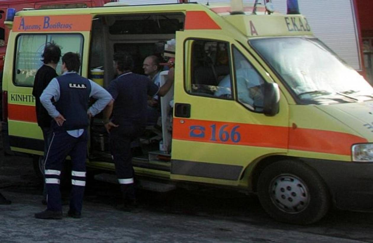 Δυστύχημα με λεωφορείο στην Καβάλα