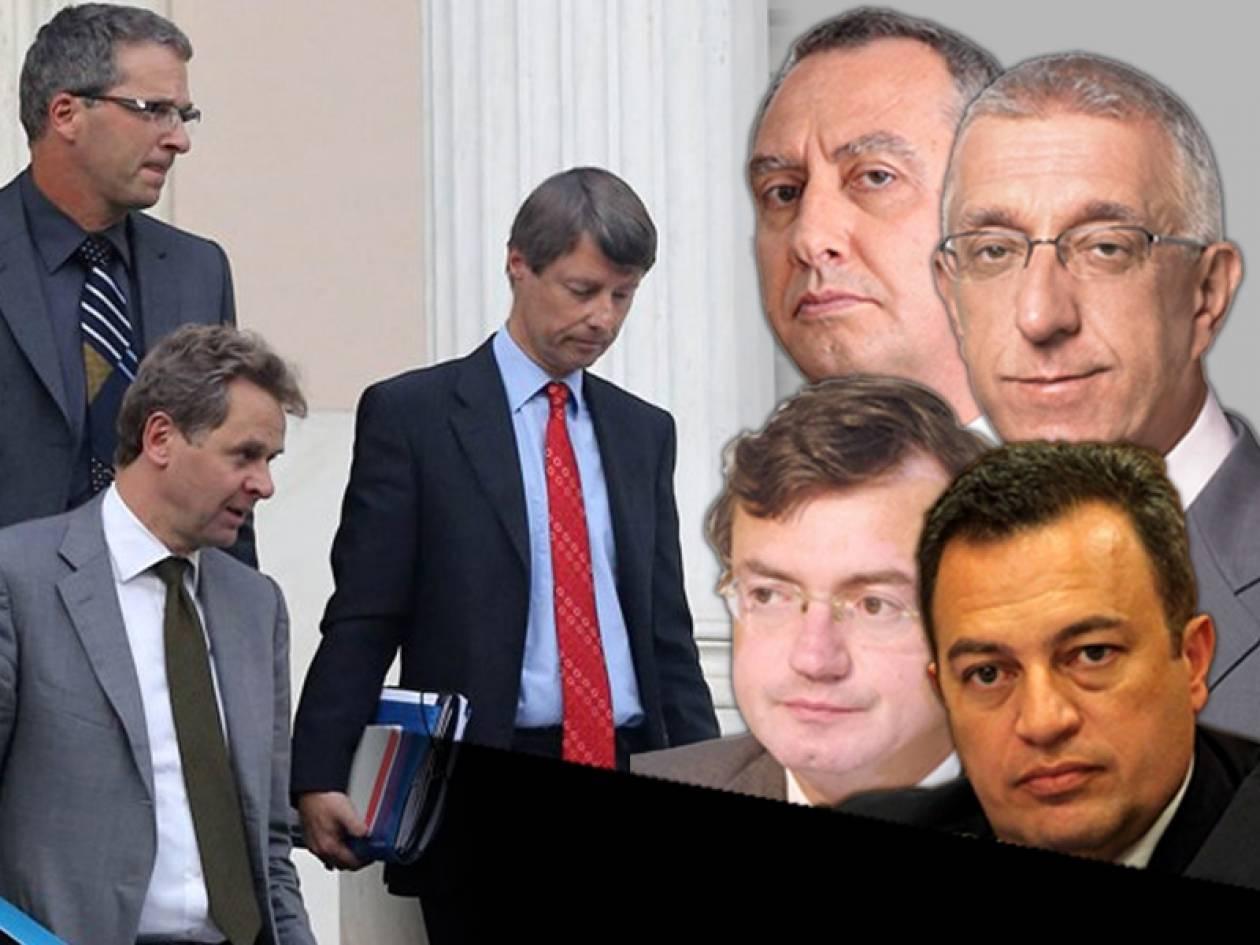 Υπουργοί και βουλευτές στήνουν στο… απόσπασμα την τρόικα!