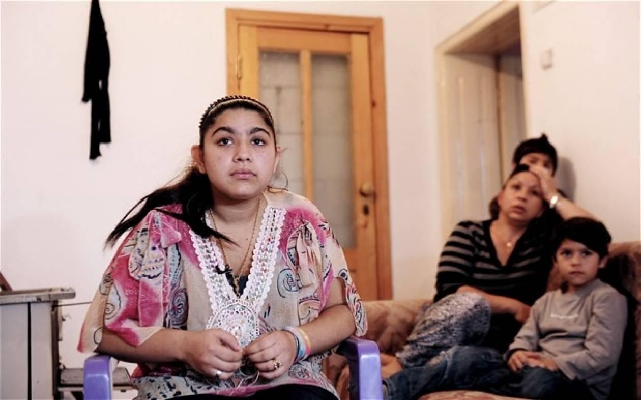 Επίθεση δέχτηκε η Λεονάρντα,η 15χρονη Ρομά που απελάθηκε από τη Γαλλία