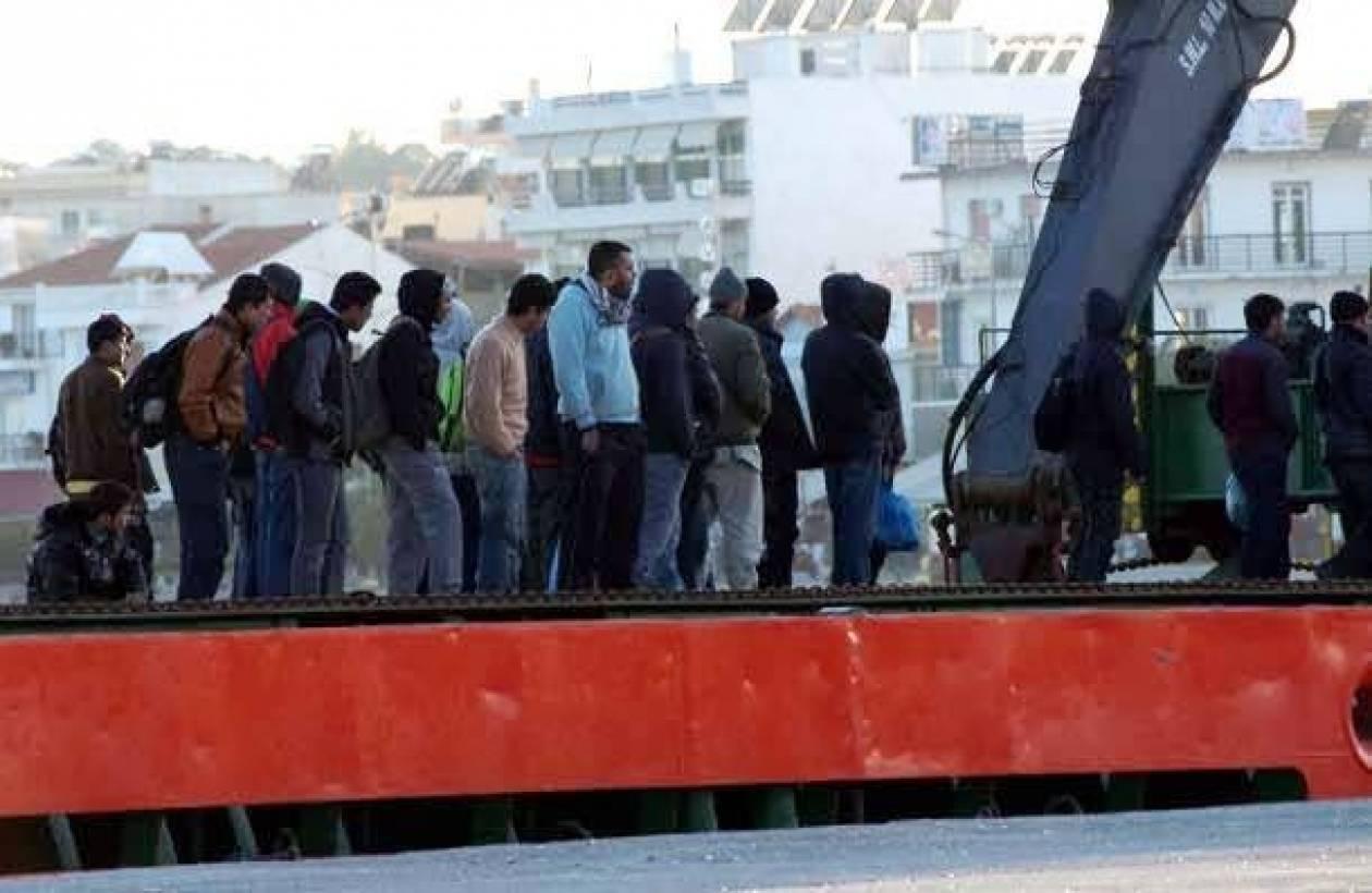 Σύλληψη 48 παράνομων μεταναστών στη Σάμο