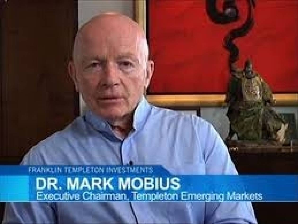 Μαρκ Μόμπιους: Η Ελλάδα προσφέρει σημαντικές επενδυτικές ευκαιρίες